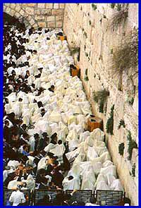 Western Wall on Pesach Chol Meodin